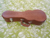 Tenor Faux Alligator Hardshell Ukulele Case