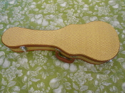Tenor Gold Tweed Hardshell Ukulele Case