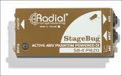 Radial Engineering StageBug™ SB-4 Piezo DI