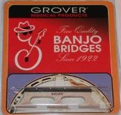 Grover Minstrel Banjo Bridge #71 5/8 Tenor Banjo