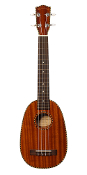Classic Mahogany Long Neck Tenor scale Pineapple