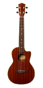 Classic Mahogany Tenor Cut-away with Under Saddle pick-ups