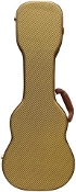 Concert Gold Tweed Hardshell Ukulele Case
