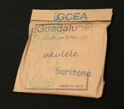 Guadalupe Custom Baritone Strings low GCEA ( full octave lower)