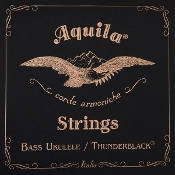 Aquila Bass Ukulele Strings (Thunderblack)